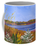 Golden Delaware River Coffee Mug