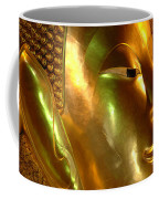 Golden Face Of Buddha Coffee Mug