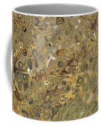 Golden Fluidity Coffee Mug