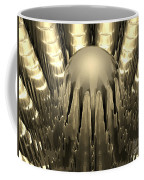 Golden Fractal Coffee Mug