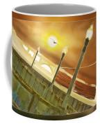 Golden Gate And Sea Gul Coffee Mug
