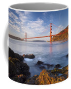 Golden Gate At Dawn Coffee Mug