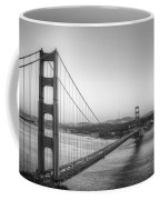 Golden Gate Black And White Coffee Mug