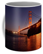 Golden Gate Bridge At Night 2 Coffee Mug