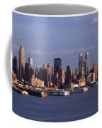 Golden Glow Of New York City Coffee Mug