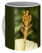 Golden Hibiscus Stamen Coffee Mug