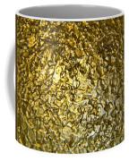 Golden Ice Crystals Coffee Mug