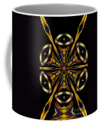 Golden Kaleidoscope Coffee Mug