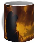 Golden Light Silhouette Coffee Mug