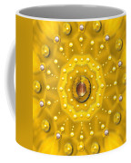 Golden Mandala With Pearls Coffee Mug
