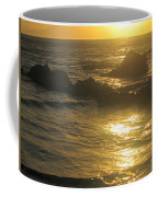 Golden Maui Sunset Coffee Mug