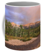 Golden Montana Mountain Coffee Mug