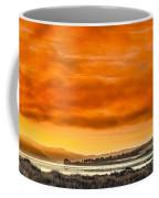 Golden Morning Over Humboldt Bay Coffee Mug