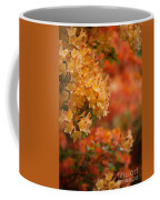 Golden Orange Radiance Coffee Mug