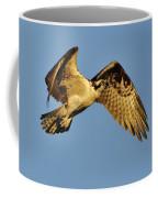 Golden Osprey In Dawn's Early Light Coffee Mug