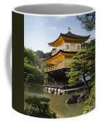 Golden Pavilion, A Buddhist Temple Coffee Mug