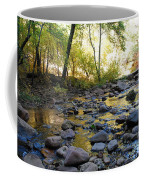 Golden Reflection In The Canyon Of  Light Coffee Mug
