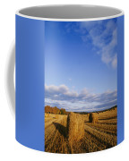 Golden Rolls Of Hay In A Field Coffee Mug