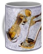 Golden Studded Stilettos Coffee Mug