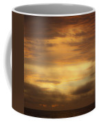 Golden Sunrise Squared Coffee Mug