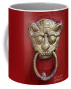 Golden Temple Door Knocker  Coffee Mug