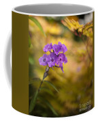 Golden Violets Coffee Mug
