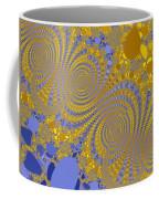 Golden Vortices Coffee Mug