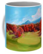 Golf Course In The Fall 2 Coffee Mug
