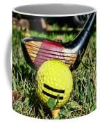 Golf - Tee Time With A 3 Iron Coffee Mug