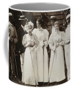 Golfing Party, C1895 Coffee Mug