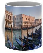 Gondolas Docked Outside Of Piazza San Coffee Mug