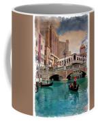 Gondolas On The Canal - Impressions Coffee Mug