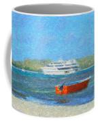 Gone Ashore Coffee Mug