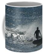 Gone Surfing Coffee Mug