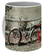 Good Ole Times Bike And Hand Pump Coffee Mug