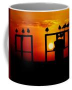 Goodnight Gulls Coffee Mug by Karen Wiles