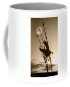 Goose At Dusk - Sepia Coffee Mug