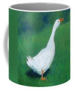 Goose On Green Coffee Mug