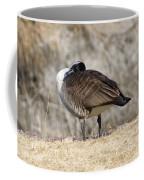 Goose Rubbing Its Back Coffee Mug
