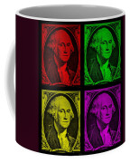 Gorge Washington In Colors Coffee Mug