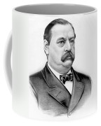 Governor Grover Cleveland - Twenty Second President Of The Usa Coffee Mug by International  Images
