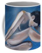 Gracefully Blue Coffee Mug