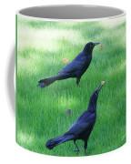 Grackles In The Yard Coffee Mug