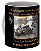 Graduation Card Coffee Mug