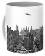 Graf Zeppelin Over Chicago Coffee Mug