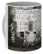 Graffiti And Bicycle Coffee Mug