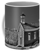 Grafton Schoolhouse - Bw Coffee Mug