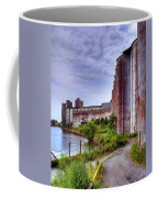 Grain Silos In Summer Coffee Mug