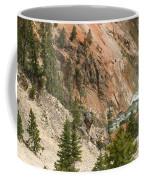 Grand Canyon And Yellowstone River Coffee Mug