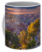 Grand Canyon At Sunset Coffee Mug